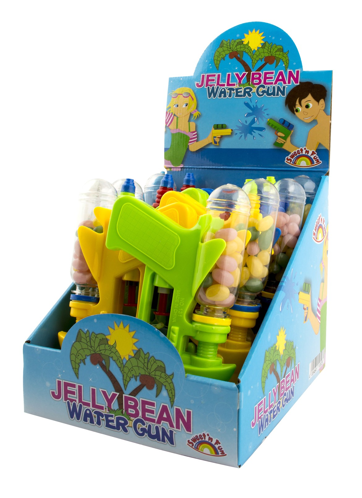 Jelly Bean Water Gun s želé 25 g