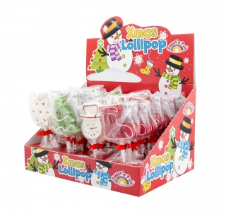 Xmas Lollipop 36ks lízanka 50g